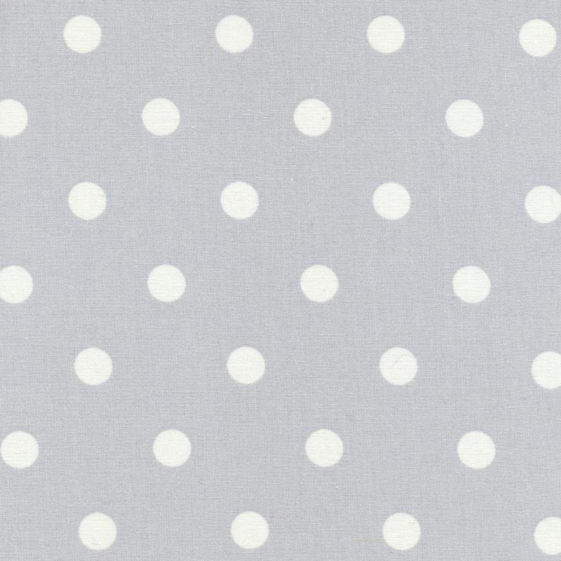Au maison wachstuch oilcloth dots big light grey 22 60 for Au maison oilcloth