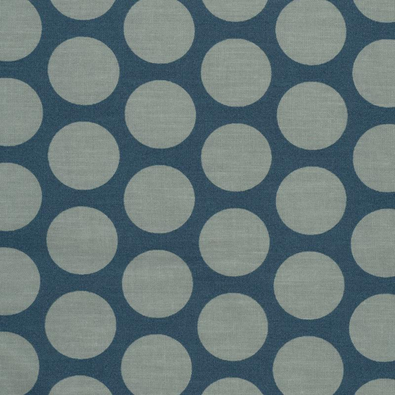 Wachstuch oilcloth super dot teal blue verte 22 60 for Au maison oilcloth