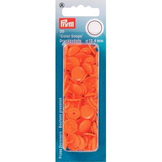 Prym 393140  Color Snaps Orange Ø 12,4mm