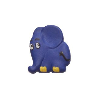 Union Knopf Elefant Blau Öse 20mm
