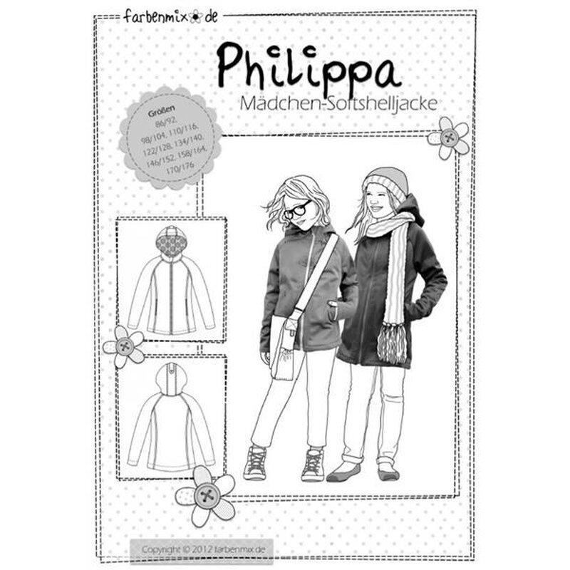 Schnittmuster Kinder Softshelljacke Philippa, 6,70 €