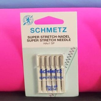 Nadeln Super Stretch Schmetz HAx1 Sp 90/14