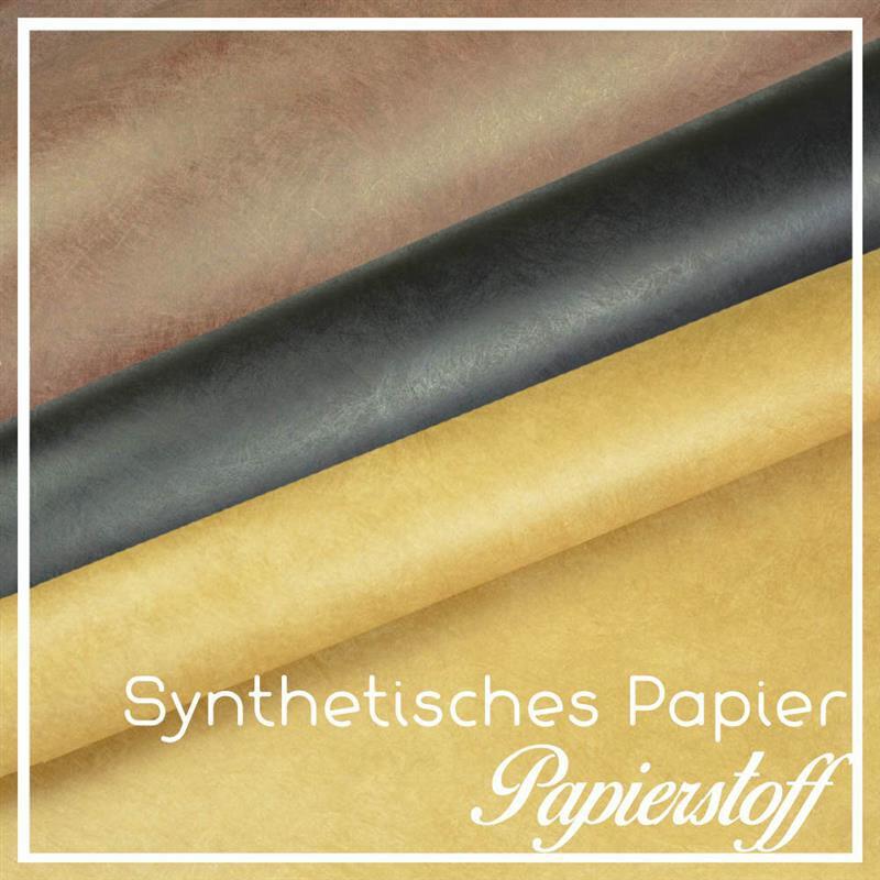 Synthetisches Papier Taschenpapier Papierstoff 1990