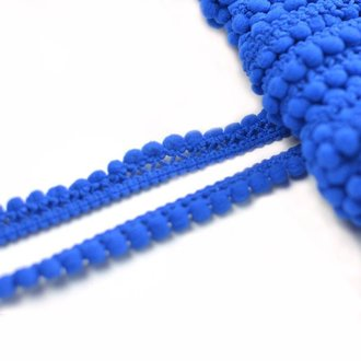 Pompon Borte Mini 10mm Royalblau