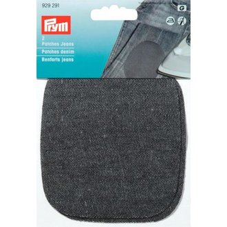 Prym 929291 Patches Jeans Denim Schwarz
