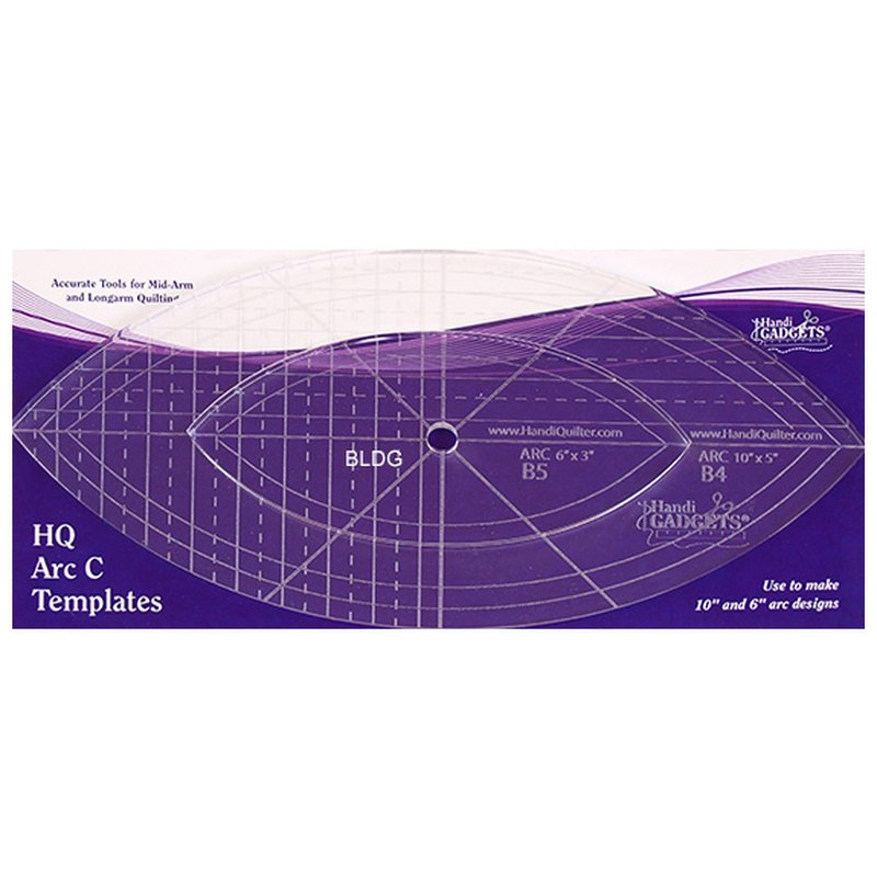 HQ Ruler-Set HQ Arc C 10\'\' 6\'\'