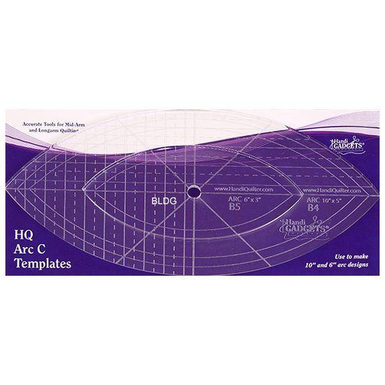 HQ Arc Ruler C 6x3, 10x5